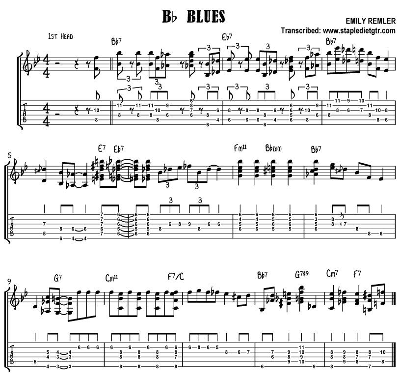 Stapledietgtr � jazz guitar